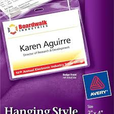 Avery White Adhesive Name Badges 5395 Template Best Of Avery