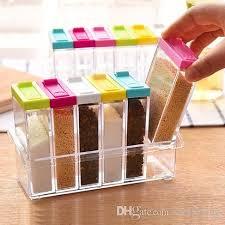 2019 Spice Jar Seasoning Box Kitchen Spice Storage Bottle Jars