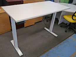 office study desk. Sit Stand Dual Electric Motor Height Adjustable Office Study Desk Vari 1800 X 900 O