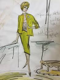Edith Head Design Sketches