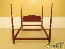 45839ec pennsylvania house queen size cherry poster bed