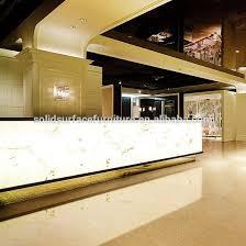 Luxury Illuminated Hotel Modern Reception Counter Design - Buy Hotel Modern  Reception Counter,Luxury Hotel Reception Counter,Reception Counter Design  ...