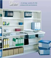 office shelf. CAPITAL Is A Flexible Storage System That Robust In The Storeroom And Refined Office. Shelves Filing Accessories Are Adjustable On 25mm Office Shelf
