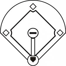 Baseball Field Template Printable Baseball Diamond Printable Free Download Clip Art Area 77 Com