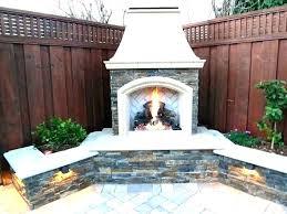 fire pit bricks home depot backyard fireplace outside kits fan kit patio modular outdoor uk firepla