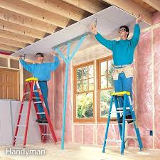 how to hang sheet rock how to hang drywall like a pro the family handyman