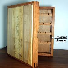 wall hung jewelry armoire wall hanging wood jewelry organizer wall hung jewelry box cherry jewelry case wood jewelry cabinet earrings necklace holder belham
