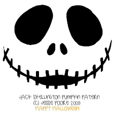 Free Printable Pumpkin Carving Patterns Mesmerizing Free Printable Jack Skellington Pumpkin Carving Stencil Templates