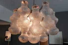 bubble glass chandelier by napoleone martinuzzi for seguso 1960s 1