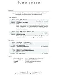 College Resume Example Awesome College Student Resume Example New Example Resume High School