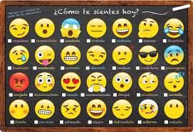 Spanish Feelings Chart Chart Spanish Feelings And Emotions Dry Erase Surface Ash93604