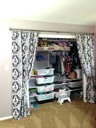 closet door ideas curtain. Curtain For Closet Door Baby Browns Nursery Track Ideas .