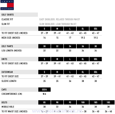 Tommy Hilfiger Shoes Size Chart Europe Halfiger Size Chart Abacus Golf Size Chart Tommy Hilfiger