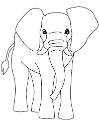 trend pictures of elephants to color free printable elephant coloring pages for kids