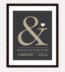 custom wedding gift wall art home decor 8 x 10 personalized wedding sign special date ampersand 5 15 14 pinterest custom wedding gifts  on personalized wedding gifts wall art with custom wedding gift wall art home decor 8 x 10 personalized