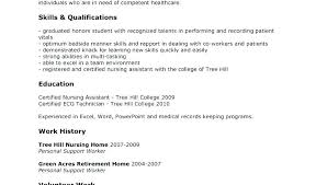 Free Cna Resume Templates Delectable Cna Resume Template Resume For Sample Sample Resume Template Resume