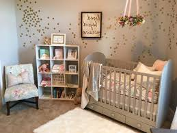 m baby girl room ideas not pink beige swivel chair with ottoman white wool area rug vintage flower crib bedding brown cotton bedding skirt wooden drawer