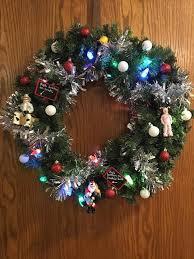 Christmas Program Theme Wreath Auction Benefits Act Bgs Christmas Elves Program