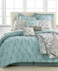 King Bedroom Bedding Sets Jasmine Blue 10 Piece California King Comforter Set Bed In A Bag