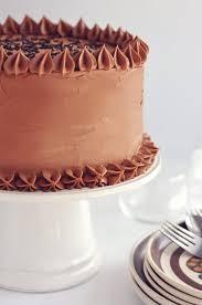 Vanilla Buttermilk Cake With Instant Fudge Frosting Sweetapolita
