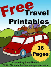 Small Picture Free Travel Printables for Kids Free travel Activities and Rain