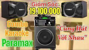 Dàn karaoke Paramax TT03 07/2021