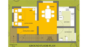 Small Picture Small House Plan 1002 HomePlansIndia