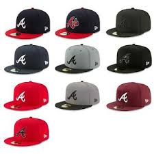 The Game Headwear Size Chart Details About Atlanta Braves Atl Mlb Game Authentic 59fifty Fitted Cap 5950 A Axe Logo Hat