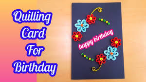 how to make diy paper quilling card diy paper crafts birthday gift card ideas 37