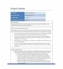 Project Templates Word 10 Project Charter Templates Word Excel Pdf Templates