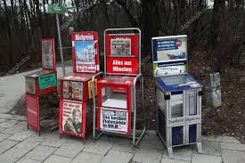 Newspaper Vending Machines Classy Newspaper Vending Machines Stock Editorial Photo © Wrangel 48