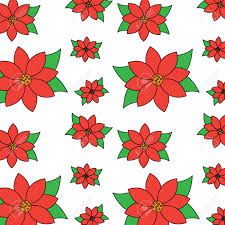 Poinsettia Pattern Cool Decorating Ideas
