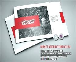 Free Book Template For Word 8 Page Brochure Template Free Book Word Booklet Adobe