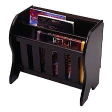 office depot magazine rack. Magazine Holder For Office Wood Rack Side Table Storage Book Organizer Bathroom Depot