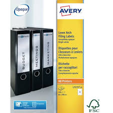 Labeling Binders Avery Lever Arch Filing Labels Sized To Fit Spine Of Lever Arch Files Ring Binders Box Files And More
