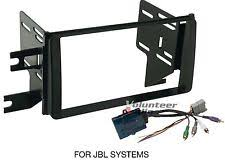 fj cruiser radio trim toyota fj cruiser double din car stereo radio install dash trim kit jbl harness