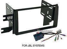 fj cruiser radio trim toyota fj cruiser double din car stereo radio install dash trim kit jbl harness