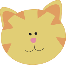 cat face clipart. Brilliant Cat Yellow Cat Face Clip Art  Image Inside Clipart T