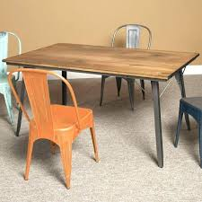 metal kitchen table medium size of round wooden legs chairs glass dining with