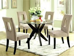 round black glass dining table and chairs glass round dining room table glass centerpieces for dining