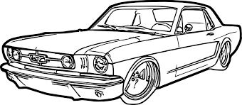 Coloring pages mesmerizing how to draw a mustang 7 ford drawing 46 how to draw a