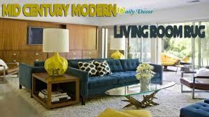 Mid Century Modern Interior Design Classy Mid Century Modern Living Room Rug Galleria Interior Designs
