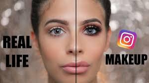 best makeup artists ever insram makeup vs everyday real life makeup