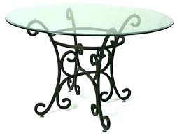 traditional round glass dining table popular of height gla