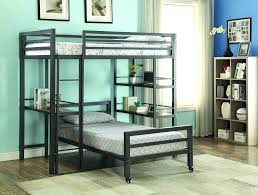 twin metal loft bed with desk quick view black twin over futon metal bunk bed loft