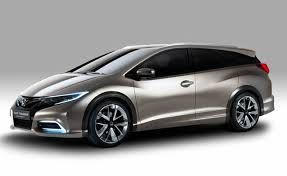 honda civic hatchback 2014. honda is bringing a new version of its civic tourer to the frankfurt motor show which will debut alongside refreshed hatchback 2014