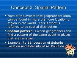Pattern Geography Definition Extraordinary Six Concepts Of Geography