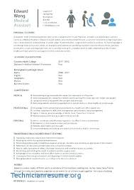 Doctor Resume Format Doc | Technician Resume Cv