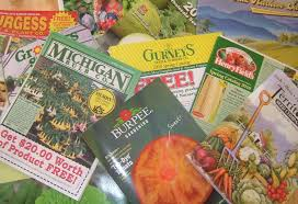 it s january and my dining room table is covered with seed and garden catalogs i you re a gardener and you re not getting catalogs something is wrong