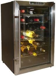vinotemp wine fridge. Vinotemp VT-28TEDS 28 Bottle Wine Cooler Fridge N